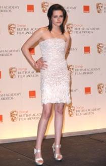 Kristen Stewart in Chanel at the Baftas.