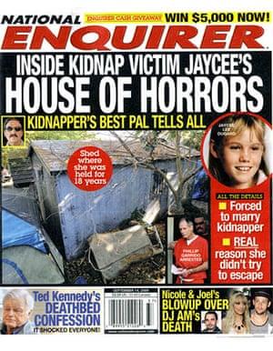 National Enquirer: Jaycee Lee Dugard