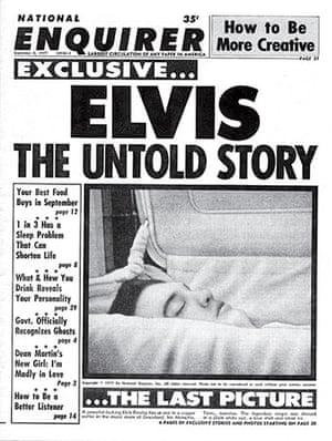 National Enquirer: Elvis Presley