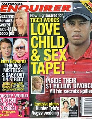 National Enquirer: Tiger Woods