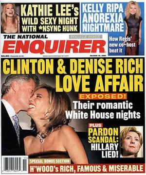 National Enquirer: Bill Clinton Alleged