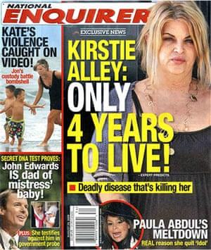 National Enquirer: Kirstie Alley