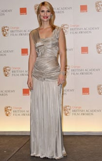 Claire Danes in Burberry at the Baftas.