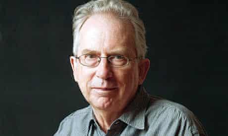 Peter Carey at home, 2009.