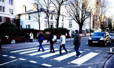 men on abbey road