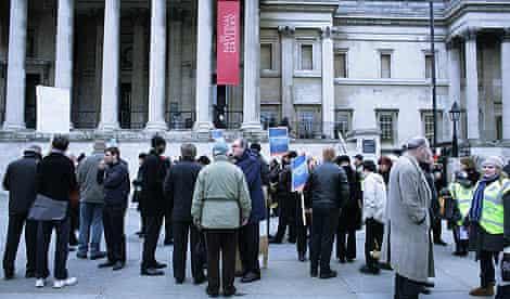 national gallery strike