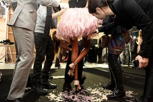 Eyewitness: Nathan Jenden - London Fashion Week