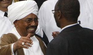Omar al-Bashir and Khalil Ibrahim