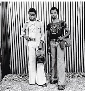 Malick Sidibé Gallery: Posing In The Studio, 1975