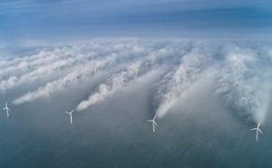 Wind Energy: wind turbines of Horns Rev wind farm