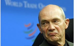 Pascal Lamy, director general of the WTO