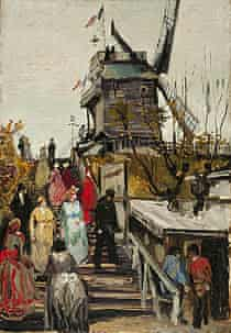 Le Blute-Fin Mill, by Vincent van Gogh