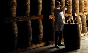 Rum exhibition in Nicaragua