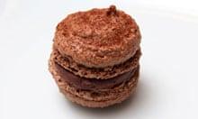 Sybil Kapoor's chocolate macaron