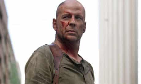Bruce Willis in Die Hard 4