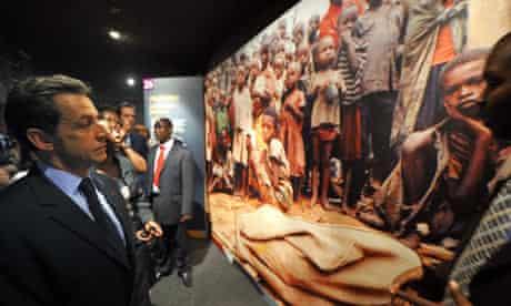 Nicolas Sarkozy in Rwanda