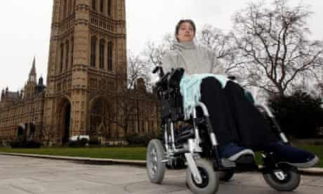 Assisted suicide campaigner Debbie Purdy