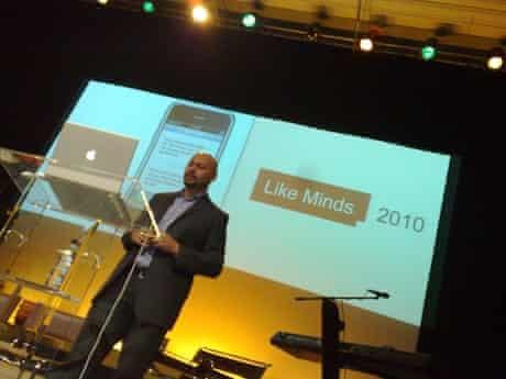 Jonathan Akwue of Digital Public talked about social media for social change