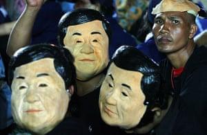 Thaksin Shinawatra: 21 December 2007: Supporters of Thaksin Shinawatra