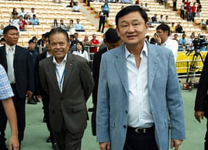 Thaksin Shinawatra: 17 May 2008: Chairman of Manchester City Thaksin Shinawatra