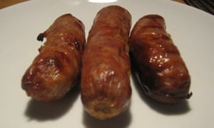Sausages, grilled