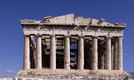 Parthenon on the Acropolis, Athens