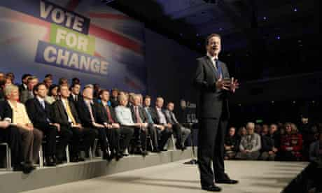 David Cameron Conservative Party Spring Conference, Brighton
