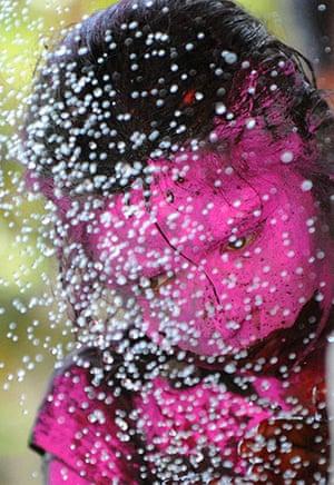 Holi colour celebration: Holi, a Hindu colour celebration