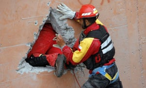chile earthquake rescue teams