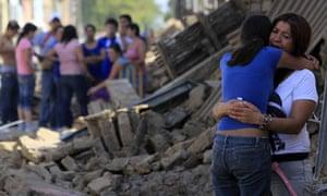 chile earthquake survivors