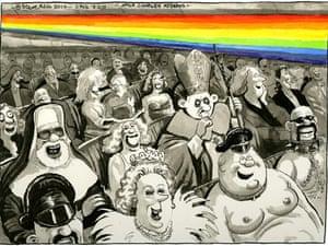 Steve Bell Cartoon 3 Feb