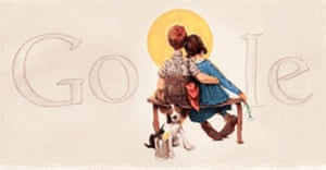 Rockwell: Google doodle