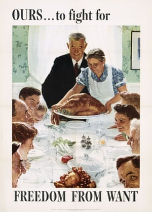 Rockwell: Norman Rockwell, Freedom for Want