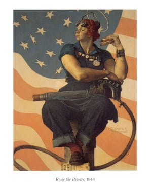 Rockwell: Rosie the Riveter from Norman Rockwell