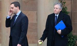 Peter Robinson leaves Northern Ireland talks