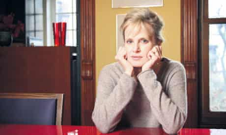 Author Siri Hustvedt January 13, 2010 in her home, Brooklyn,  New York, USA.  .