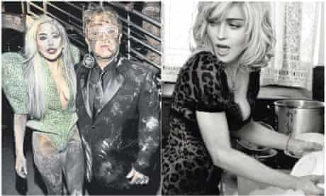 Lady Gaga and Elton John – dirty: Madonna – clean
