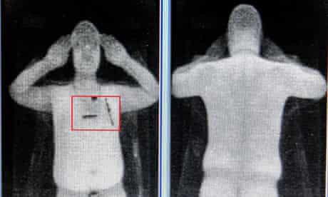 Images from the new body scanners at airports.