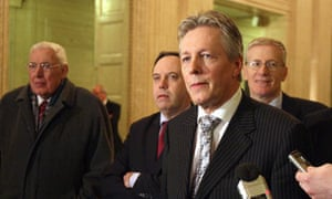 Peter Robinson, the DUP leader