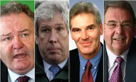 Elliot Morley, David Chaytor, Jim Devine and Paul White, Lord Hanningfield