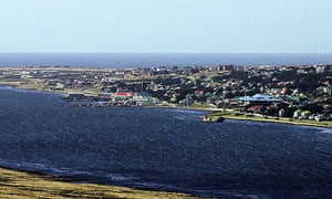 Stanley, on the Falkland Islands