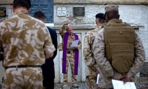 Services Of Remembrance Are Held On Armistice Day In Afghanistan