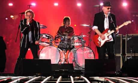 The Who at Super Bowl