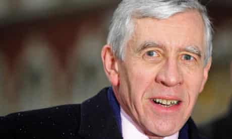 Jack Straw arrives to give evidence for the second time at the Iraq war inquiry.