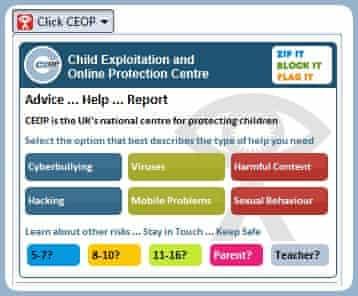 ClickCEOP web slice in IE8