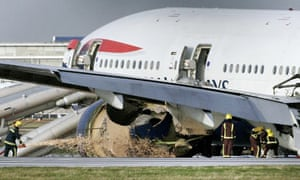 Report into Boeing crash-land at Heathrow