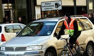 bike traffic london