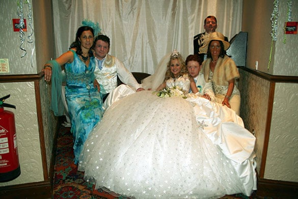Big Fat Gypsy Wedding.In Pictures Channel 4 S My Big Fat Gypsy Wedding Television