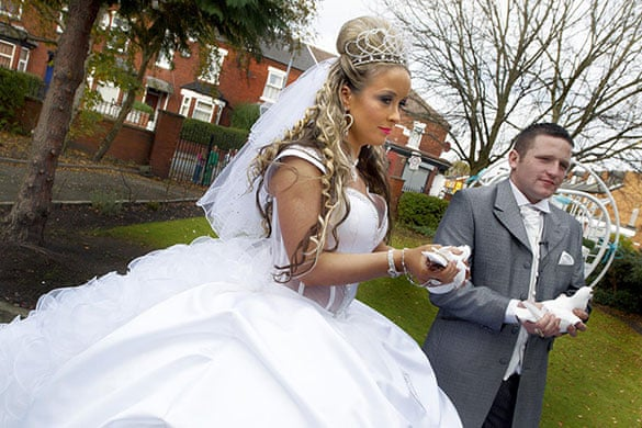 In Pictures Channel 4s My Big Fat Gypsy Wedding