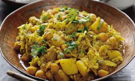 Hugh FW: Chickpea curry
